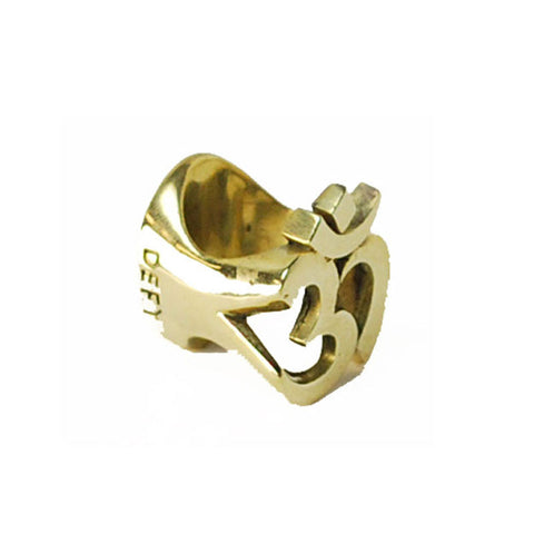 Ohm Brass Ring