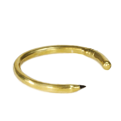 Pencil Brass Bracelet