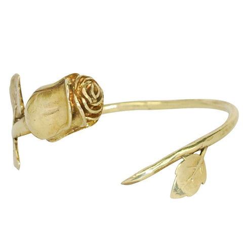 Rose Brass Bracelet