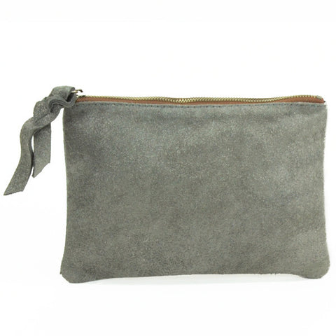 Cava Small Pouch - Grey (Silver)