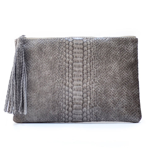 Demente Clutch Grey