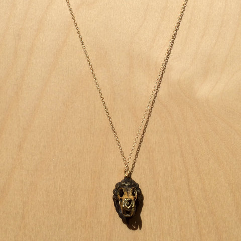 Leo Brass Necklace