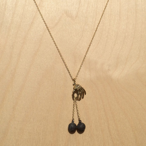 Libra Brass Necklace