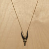 Capricorn Brass Necklace