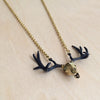 Antler Brass Necklace