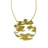 Orient Art Brass Necklace
