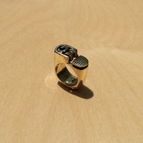 Lighter Brass Ring