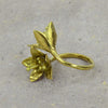 Lotus Brass Ring