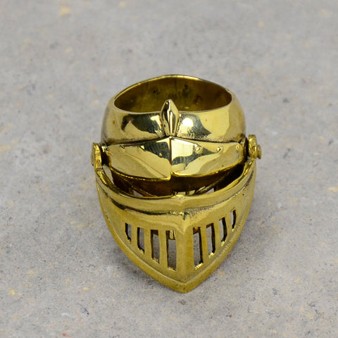 Armor Brass Ring