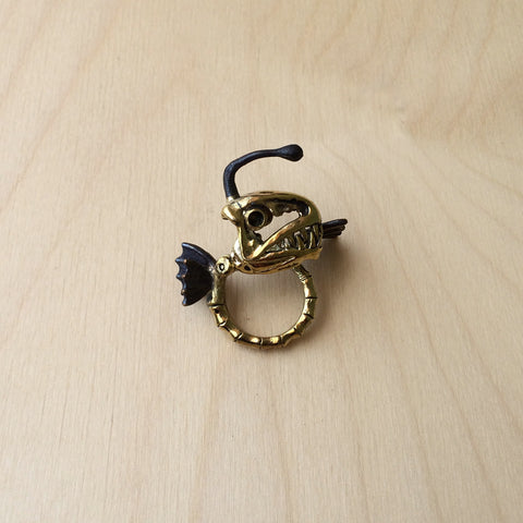 Pisces Brass Ring