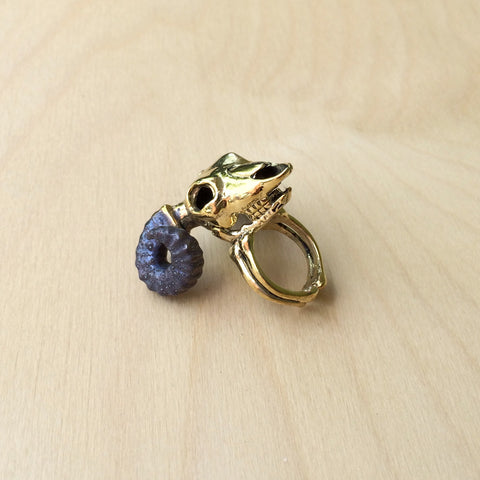 Aries Brass Ring