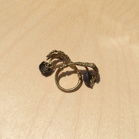 Libra Brass Ring