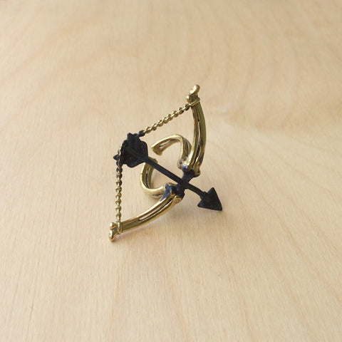 Sagittarius Brass Ring