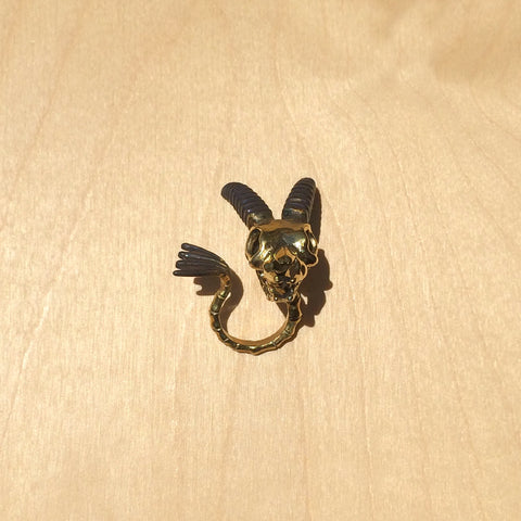 Capricorn Brass Ring