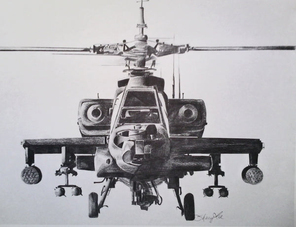 """The AH-64 Apache"""