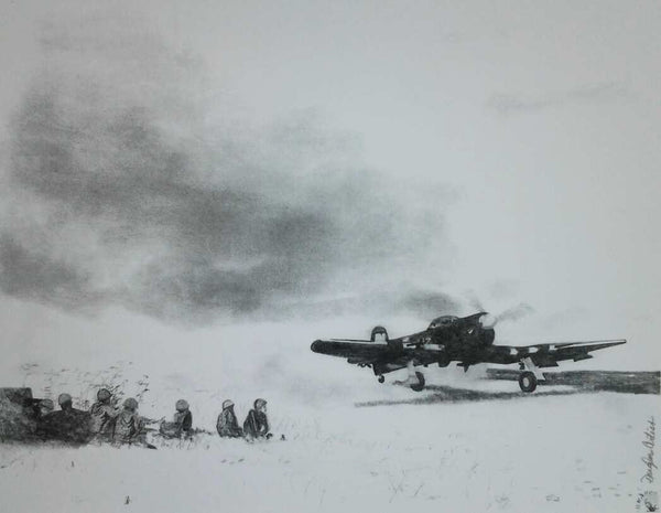 """Typhoon Take-Off At Normandy"""