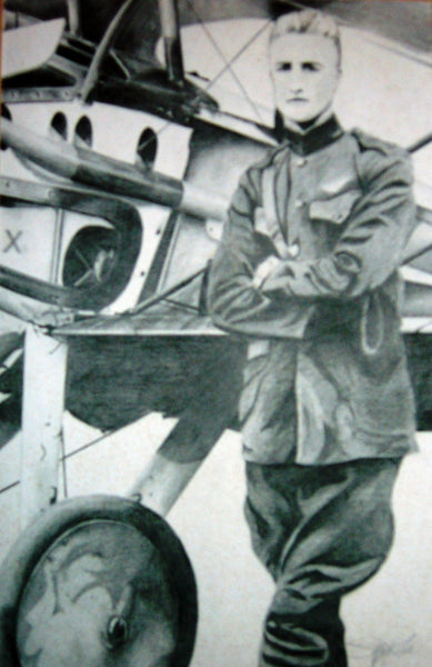 'Frank Luke and His SPAD XIII""