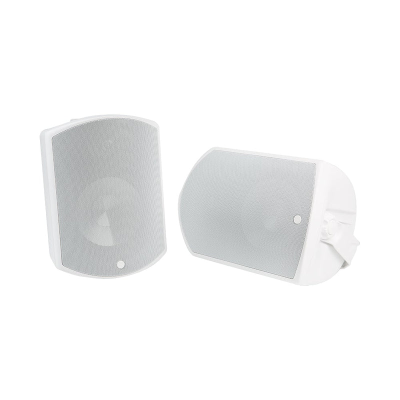 All-Weather 8 in. Surface Mount Speakers (White | Pair)