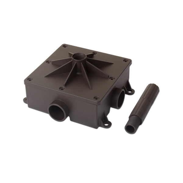 5 in. x 5 in. Burial Installation base for use with Landscape Satellite speakers (Each)