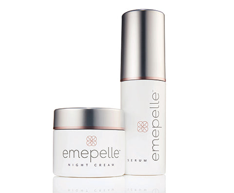 Emepelle Serum and Night Cream