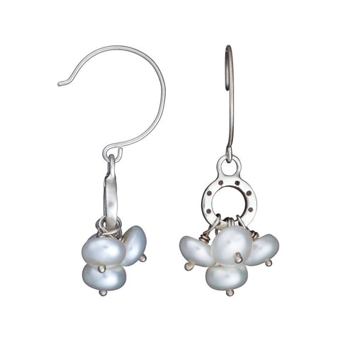 ARCHIVE EARRING:  cluster pearl earring (circa 1993)