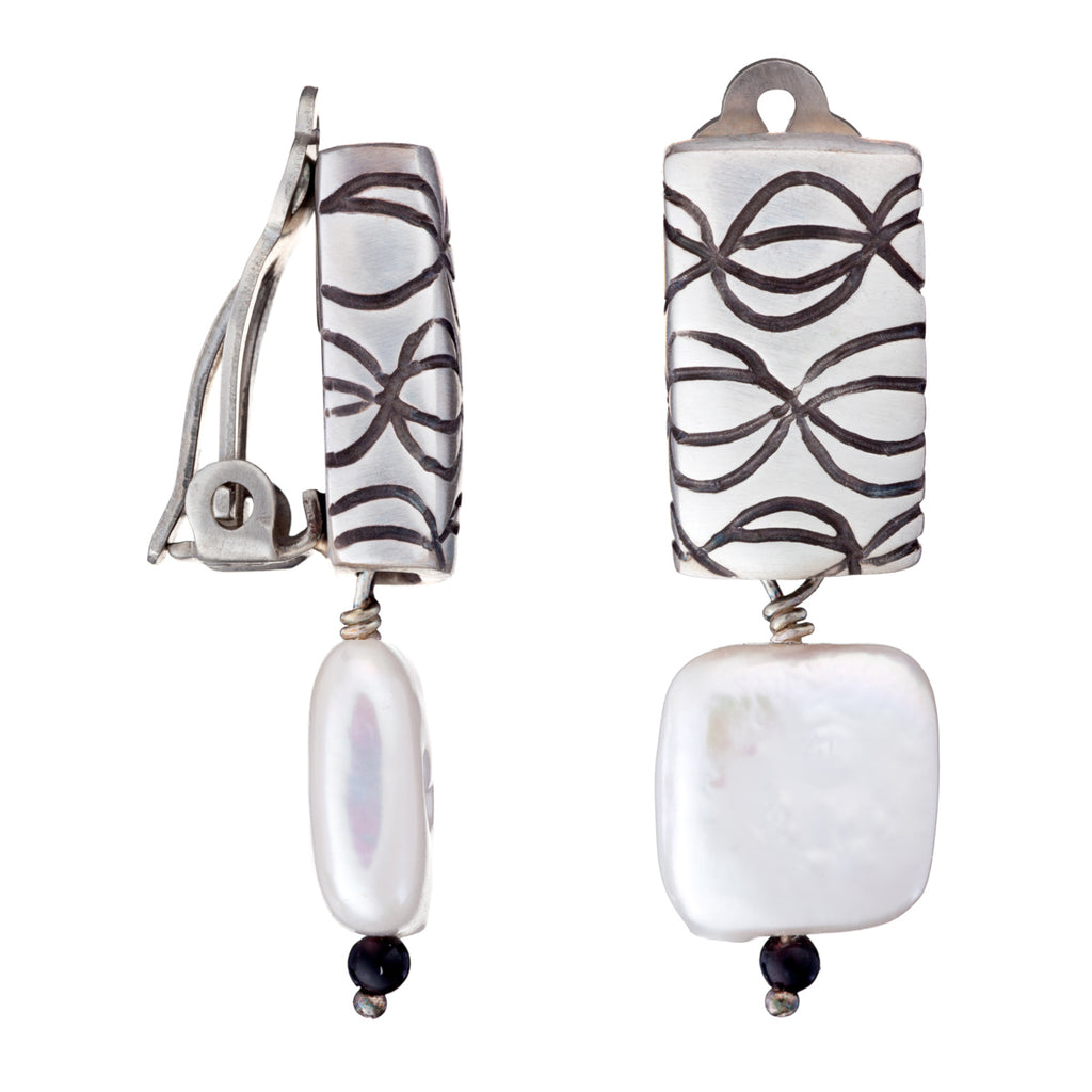 ARCHIVE COLLECTION: pop pearl clip earring (circa 2001)