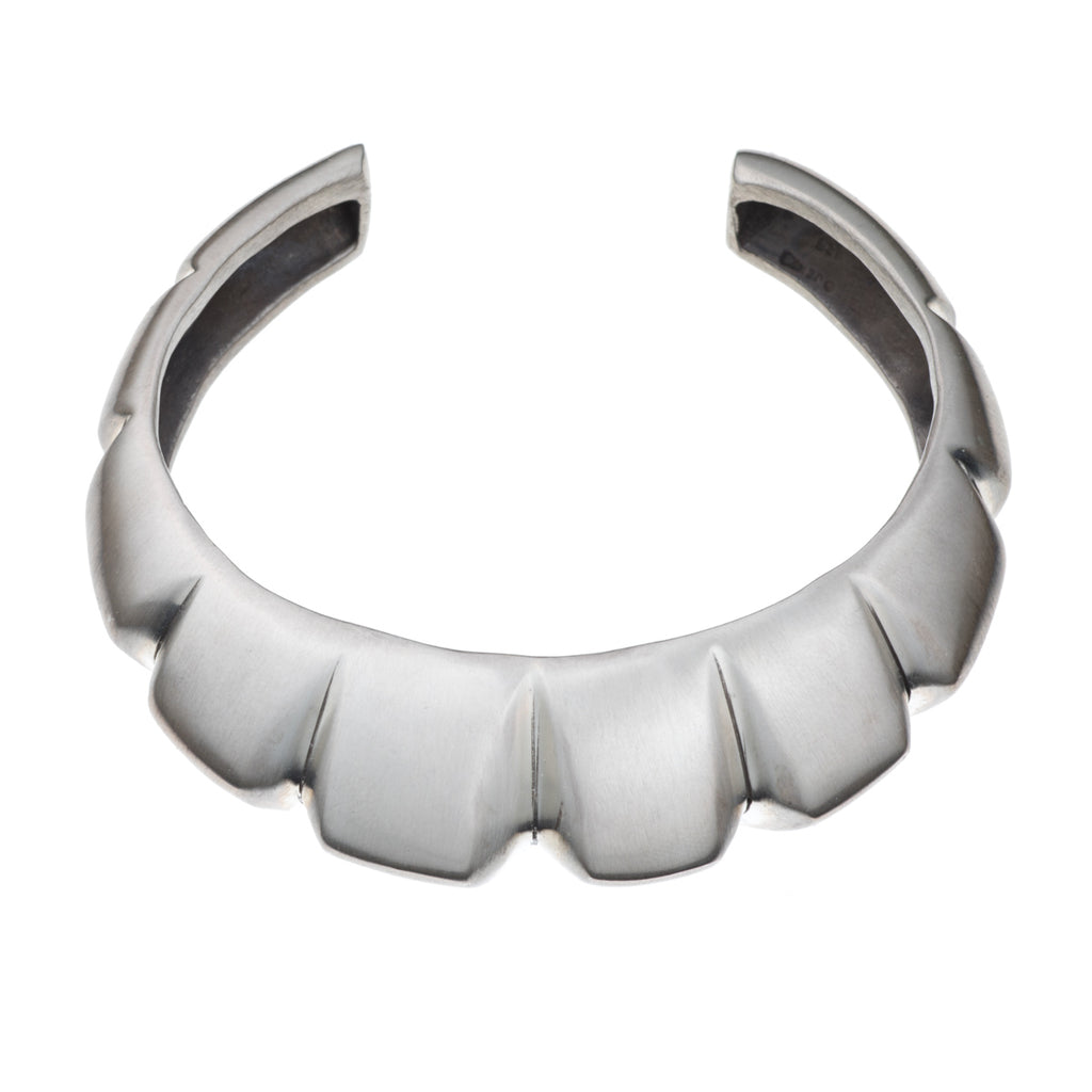 ARCHIVE COLLECTION: notch striped cuff bracelet (circa 1997)
