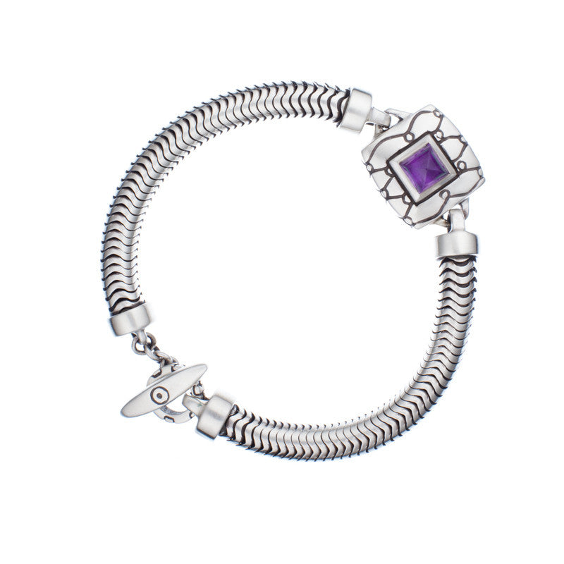 ARCHIVE COLLECTION: valencia amethyst bracelet (circa 1999)