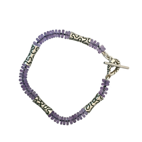 ARCHIVE COLLECTION: squiggle amethyst bracelet (circa 2003)