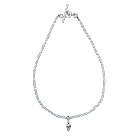 ARCHIVE NECKLACE: Cone Charm Pearl (circa 1993)