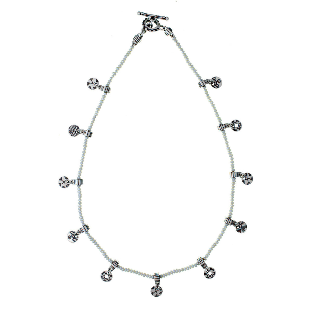 ARCHIVE NECKLACE: Spangled Pearl Choker (circa 1995)