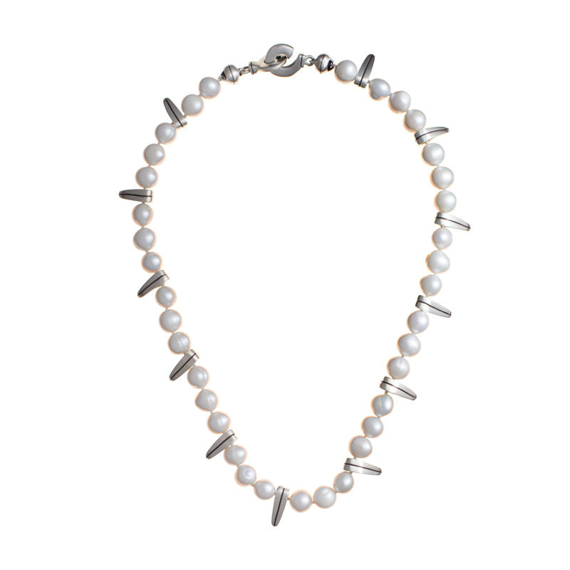ARCHIVE COLLECTION: sawtooth pearl necklace (circa 1998)