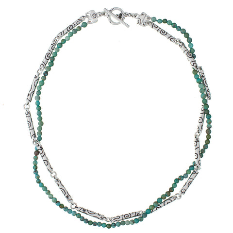 ARCHIVE NECKLACE: Kashmir Turquoise (circa 1999)