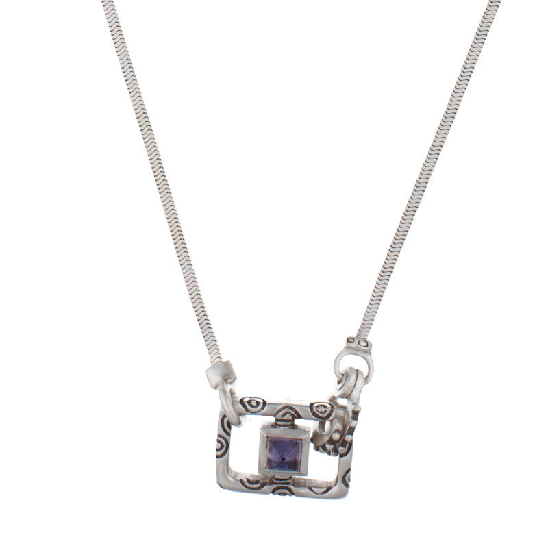 ARCHIVE COLLECTION: iolite sister necklace (circa 2000)