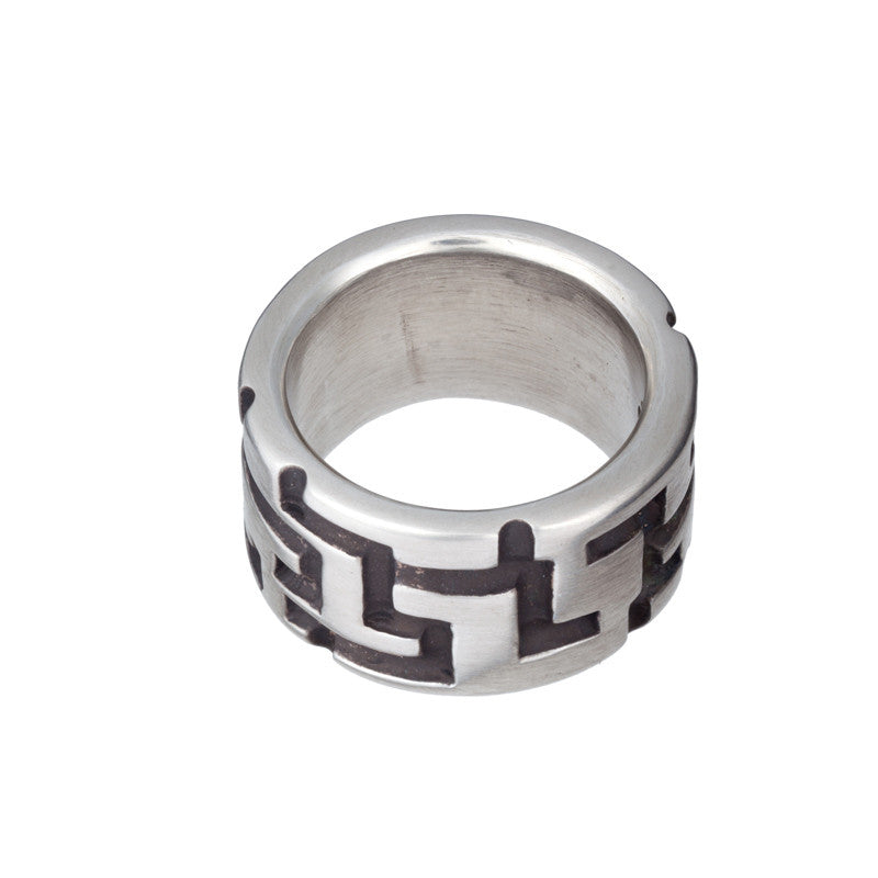 ARCHIVE COLLECTION: crossboard ring size 10.5 (circa 2003)