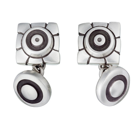 ARCHIVE COLLECTION: mayan floral cufflinks