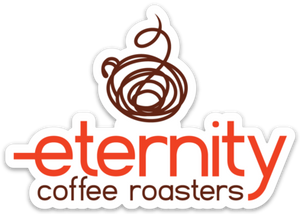 Die cut sticker - Eternity Coffee Roasters