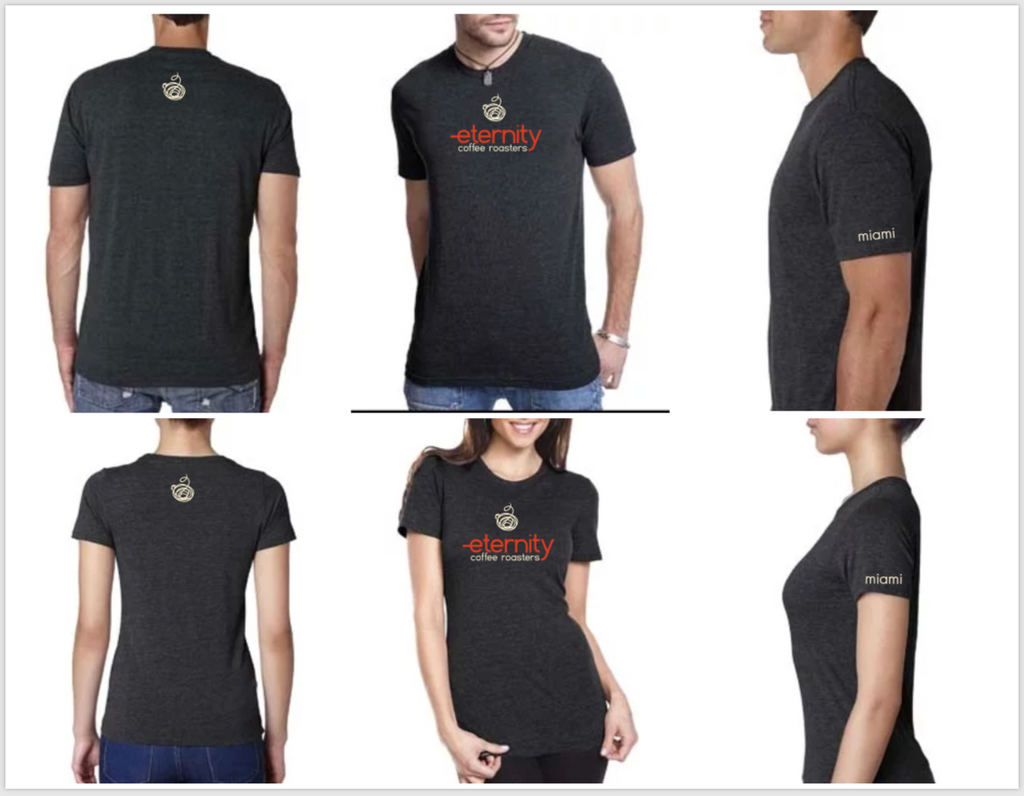 Eterni-T-Shirt- Mens and Womans - Eternity Coffee Roasters