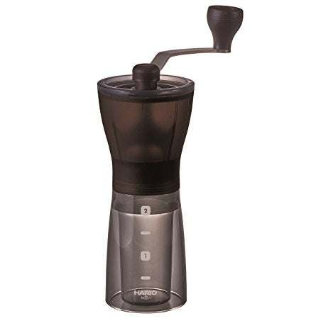 HARIO Ceramic Coffee Mini Mill Slim Plus- adjustable burs