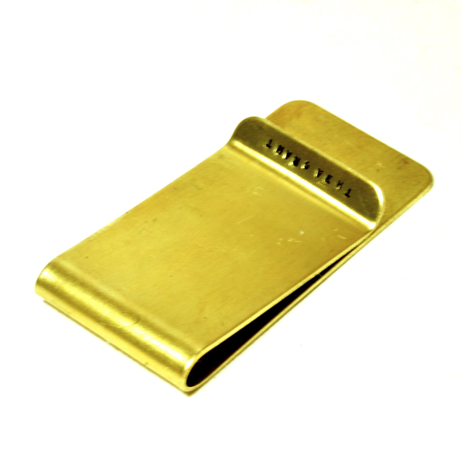 CASSIUS stamped money clip: CHECKING ACCT.