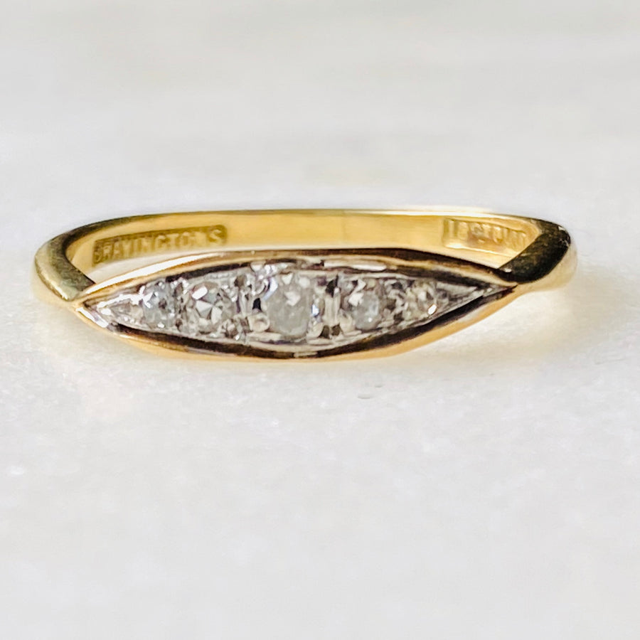 Antique Bravingtons Diamond Ring