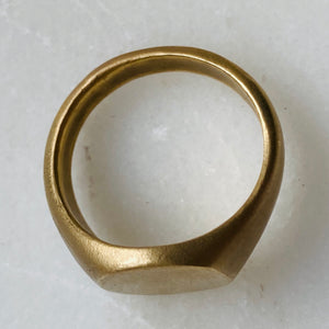 Pinard Oval Signet Ring