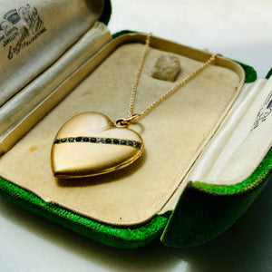 Antique photo locket.