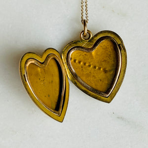 W&H Co locket.