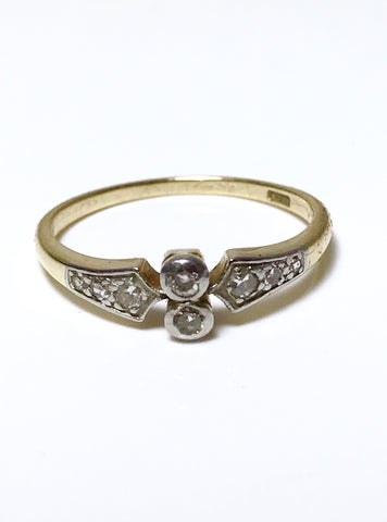 Pavlova Edwardian Diamond Ring