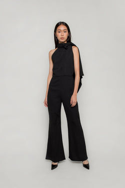 Scarf Loop Jumpsuit