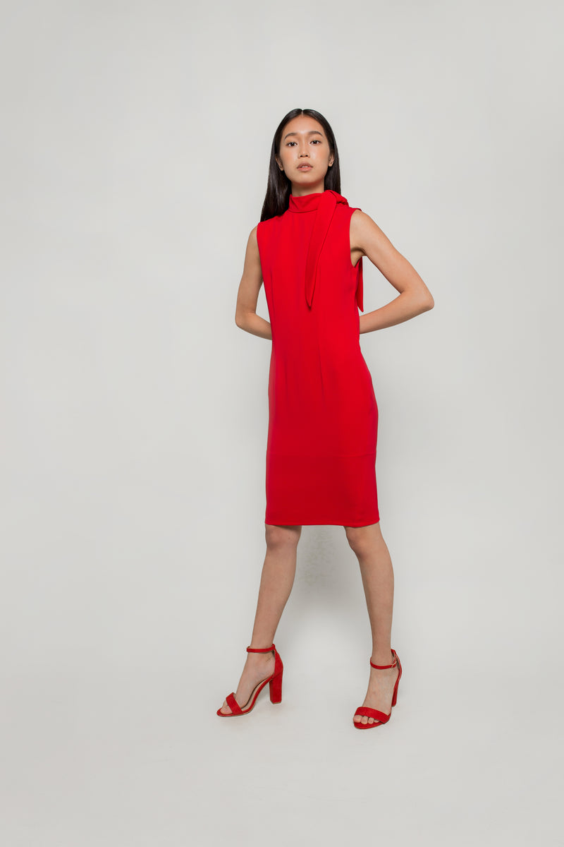 Neck Tie Dress