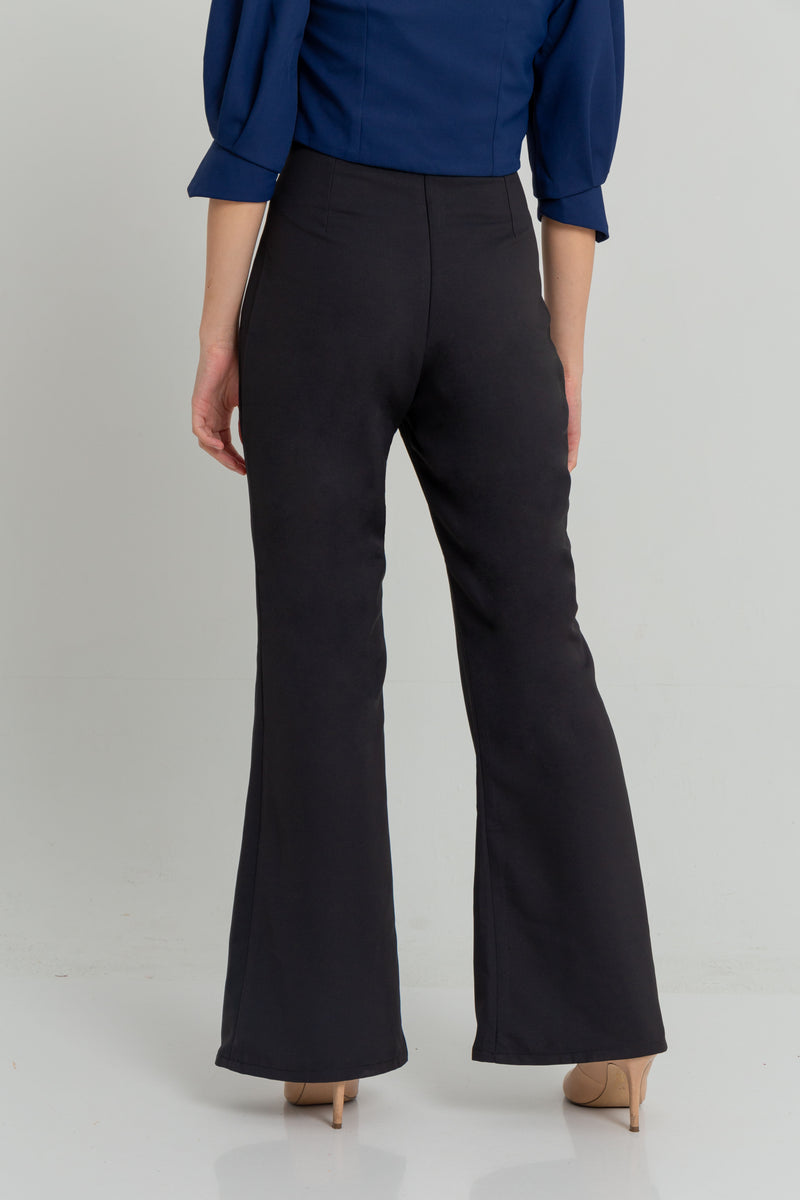 High-Waisted Wide-Legged Pants