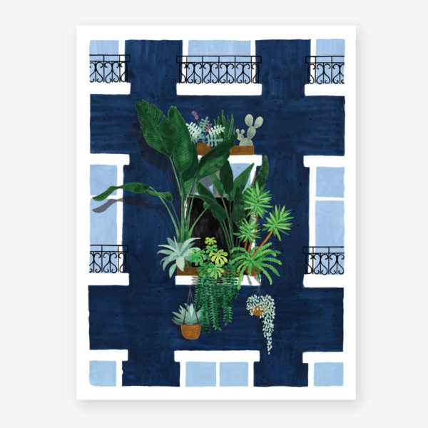 Affiche All The Ways to Say - Plant Balcony - La Maison By Nad Yuht