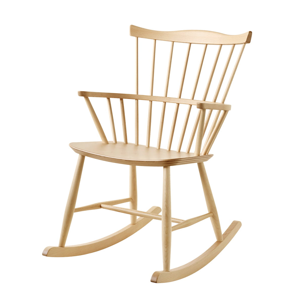 Rockingchair en chêne naturel FDB Møbler